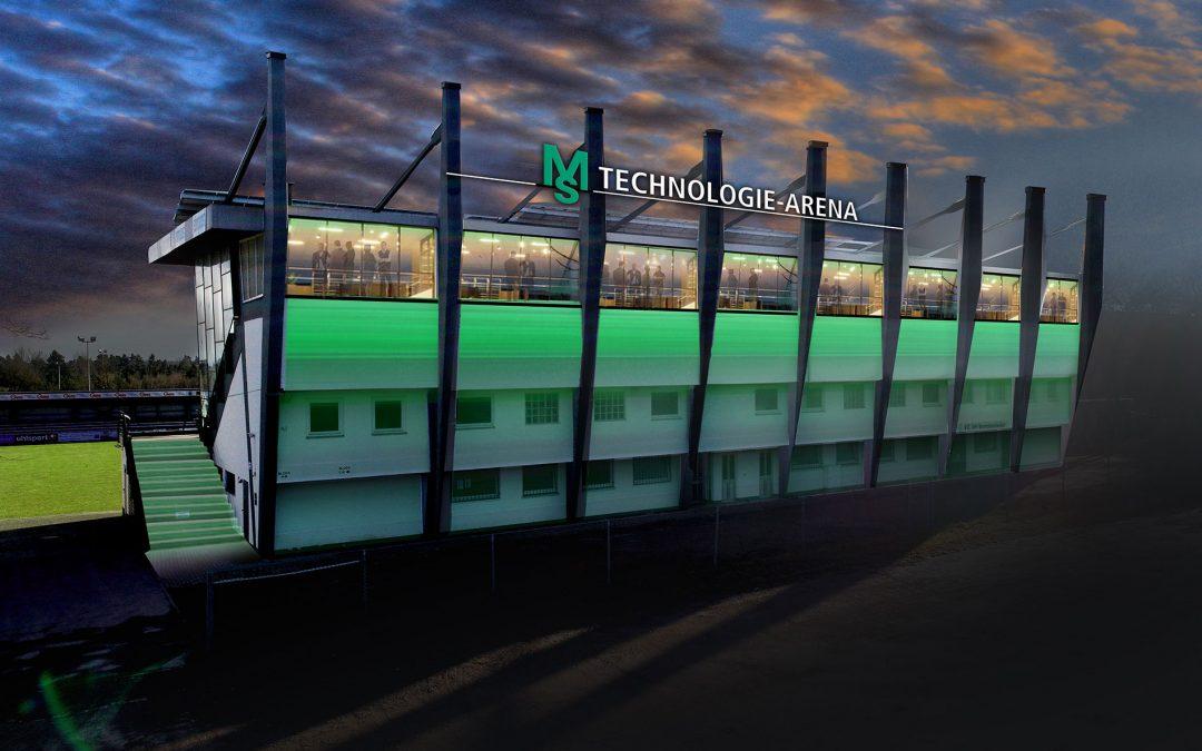 """Neuer Stadionsponsor beim FC08: Aus """"ebm-papst Stadion"""" wird """"MS Technologie Arena"""""""