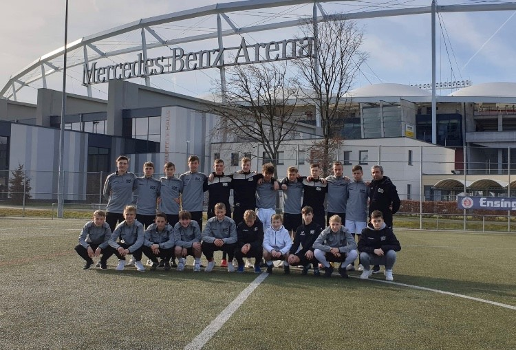 U15 zum Trainingslager in Stuttgart