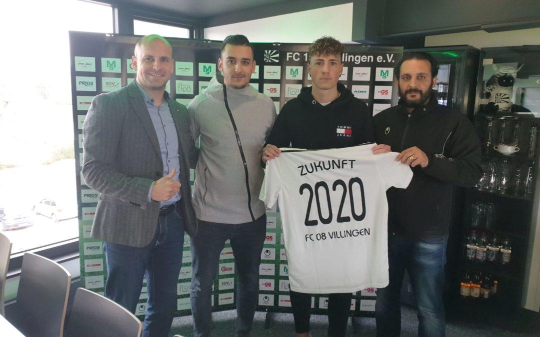 FC08 Villingen verpflichtet Flamur Berisha