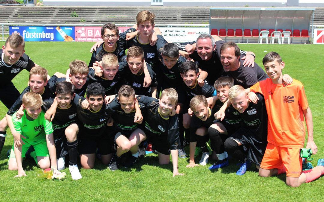 D-Junioren des FC08 Meister der Bezirksliga Schwarzwald