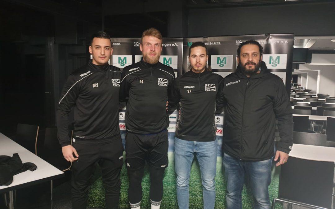FC 08 Villingen verlängert mit Schlüsselspielern Bak und Peters