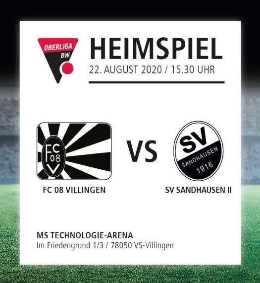 FC 08 Villingen - SV Sandhausen II