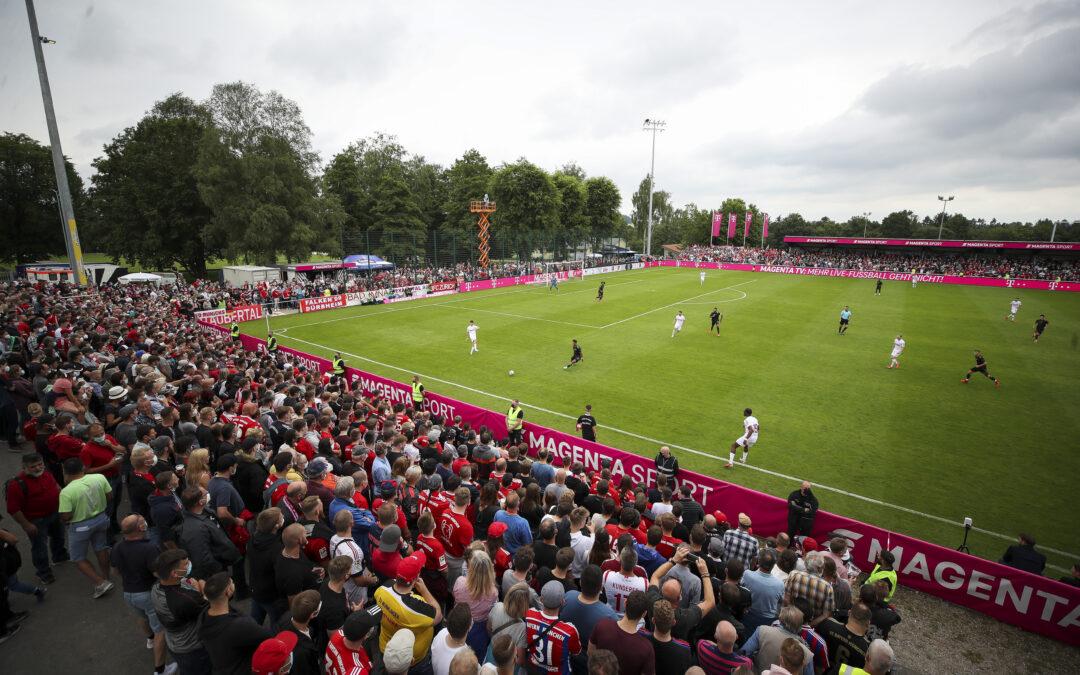 FC 08 feiert Fußballfest mit Bayern und Köln